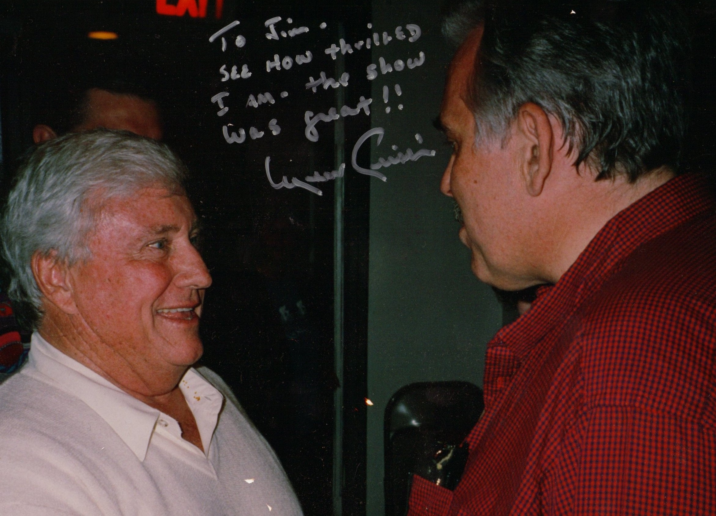 jim Brochu, Merv Griffin