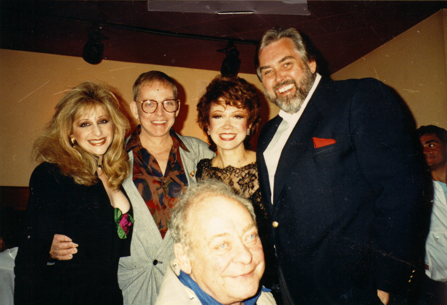 Jim Brochu, Julie Budd, Charles Pierce, Stand Freeman, Donna McKechnie