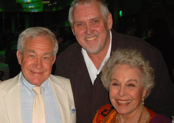 Jim Brochu, Jack Larson, Marge Champion