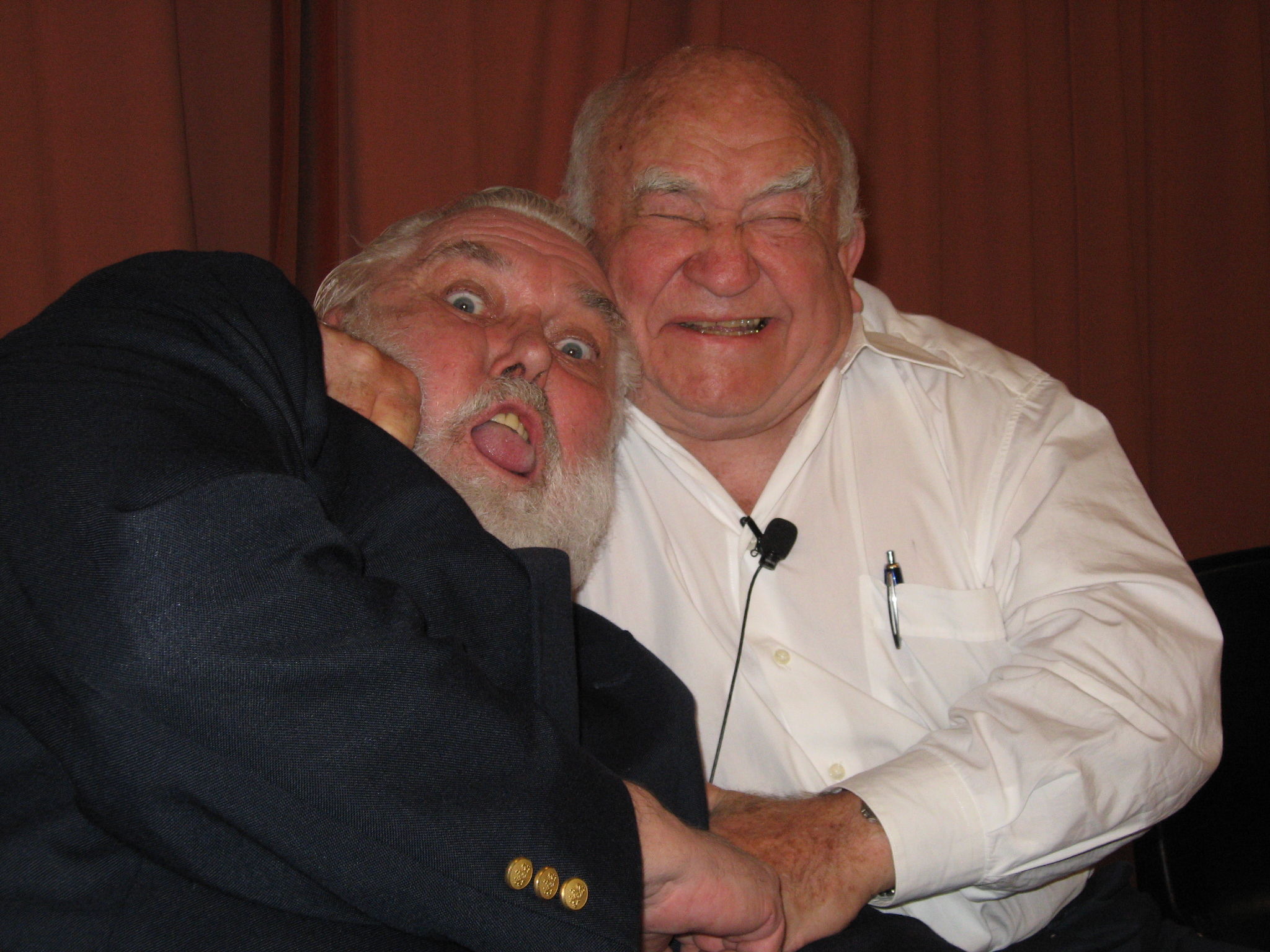 Jim Brochu, Ed Asner