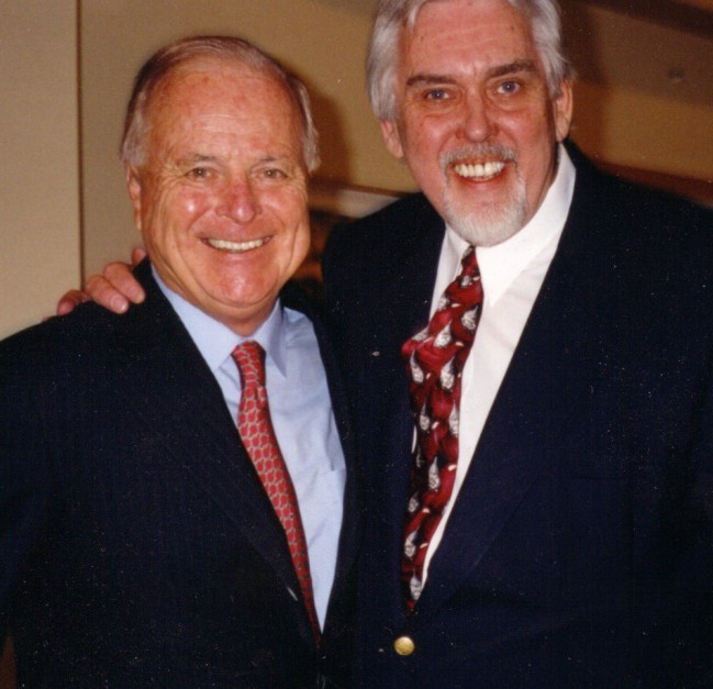 Jim Brochu, Mayor Richard Riordan