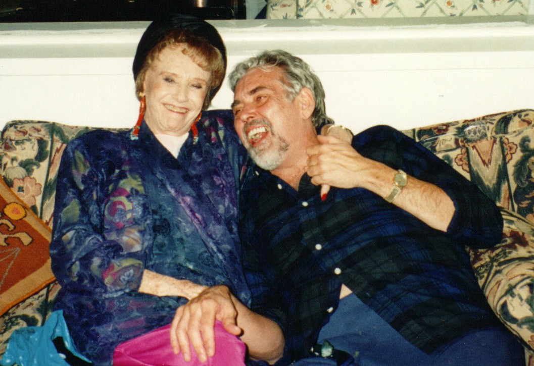 Jim Brochu, Ruth Warrick