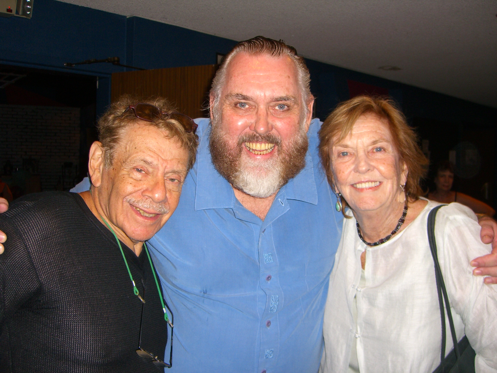 Jim Brochu, Jerry Stiller, Anne Meara