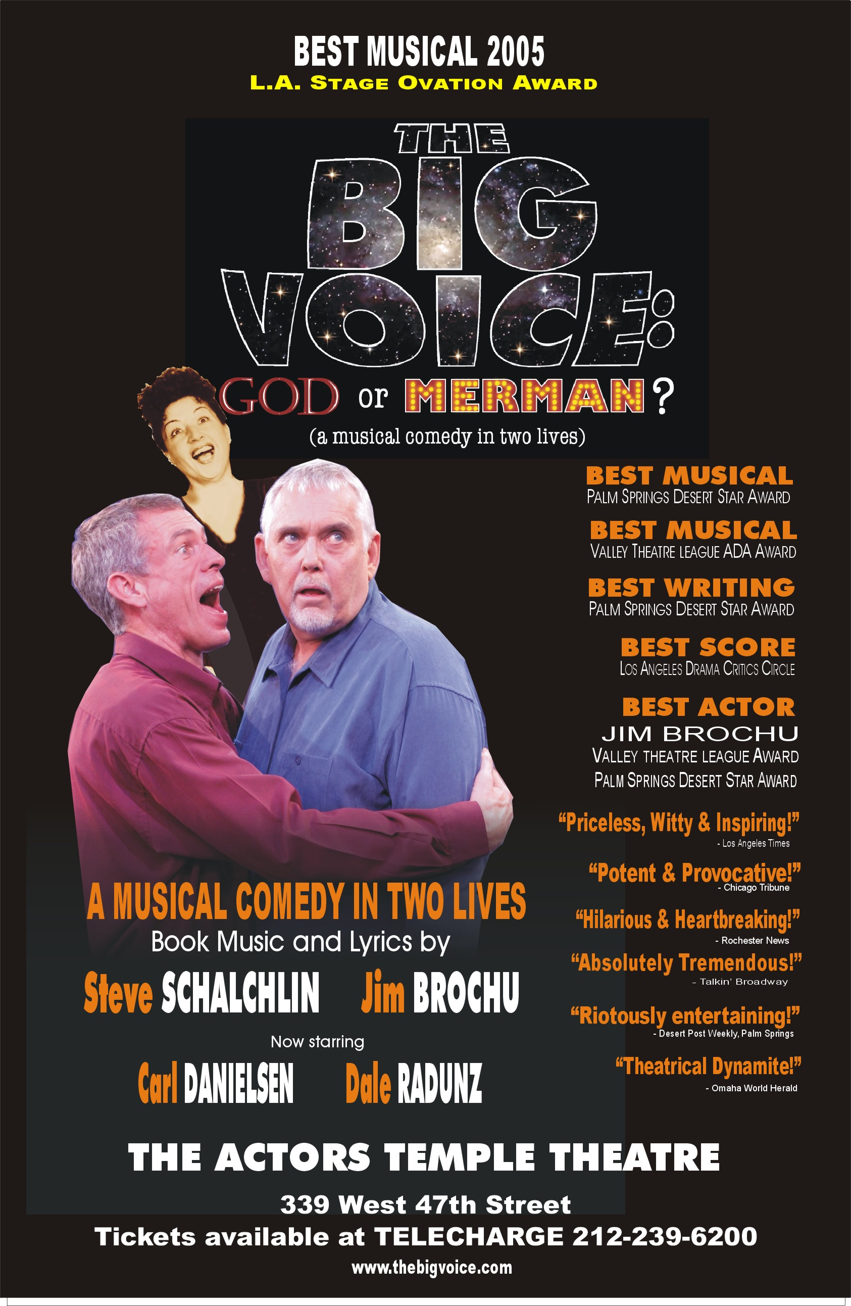 The Big Voice God or Merman?